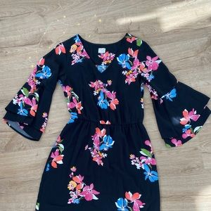 2 for $10 / A New Day Floral Flare Sleeve Dress